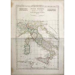 1779 Bonne, Italie moderne, Italy, Italien. carte ancienne, antiquarian map, landkarte.