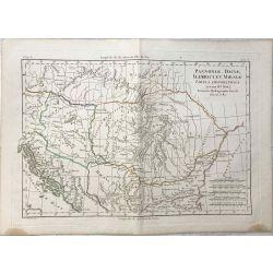 1780-Bonne-Pannoniae-Hongrie-Daciae-Roumanie-Illirici-Balkan-Moesiae-Serbie-Bulgarie--carte-map-landkarte.