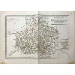 1787 Bonne, Cercle de Franconie / Franken. carte ancienne, antiquarian map, landkarte.