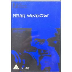 DVD, Rear window, Film, Movie, Hitchcock collection