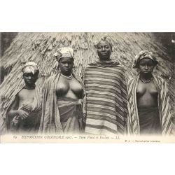 CPA Type: Pheul et Foulah exposition coloniale 1907 lehnert & Landrock 89