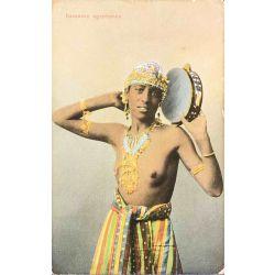 CPA Danseuse egyptienne, seins nus, Ephtimius frères, 119.