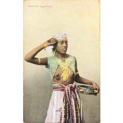 CPA Danseuse egyptienne, seins nus, Ephtimius frères, 120.