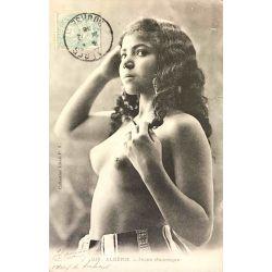 CPA Algerie Jeune Mauresque, seins nus, coll. ideale PS, 219.