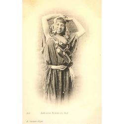 CPA Bedouine femme du sud, sein nu, Geiser 264