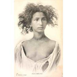CPA Jeune Bédouine, seins nus, Geiser Alger, 98