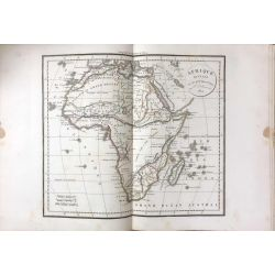 1824 Delamarche, AFRIQUE, Africa, Afrika, carte ancienne, antiquarian map, landkarte, kupferstich