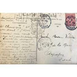 CPA Carte postale ancienne, Un fort a la Farine, ND 749