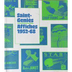 Saint-Geniès, Affiches 1952 - 68.
