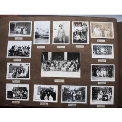ALBUM Photo JESUITE , LIBIE, SYRIE, ITALIE  cards and vintage photos. LEBANON, Saint-Joseph de Beyrouth