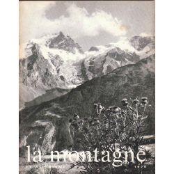 Revue,avril-1970, LA MONTAGNE ET ALPINISME