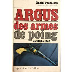 Argus des armes de poing de 1640 a 1940