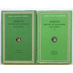 Arrian, History of Alexander, in 2 vol. / Loeb Classical Library