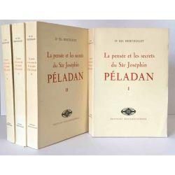 Bertholet, La Pensée et les secrets de Joséphin Péladan, 4 vols.