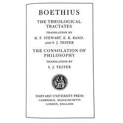 Boethius / Loeb Classical Library