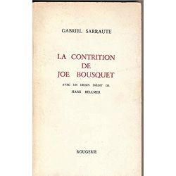 La contrition de Joe Bousquet