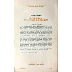 Cassirer, La philosophie des formes symboliques.