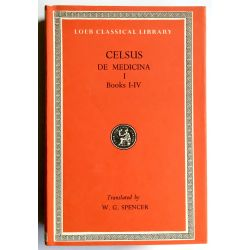 Celsus, De Medicina, 3 vol. / Loeb Classical Library
