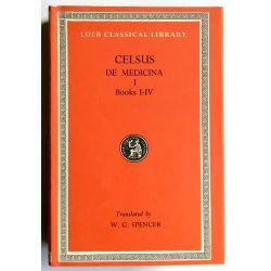 Celsus, De Medicina, 3 vol. / Loeb Classical Library