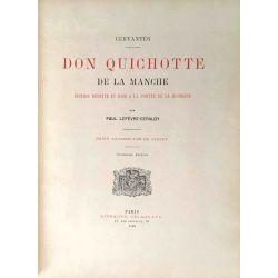 Cervantès, Don Quichotte, Aquarelles de Giffey, 1925.