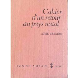 Césaire, Cahier d'un retour au pays natal.