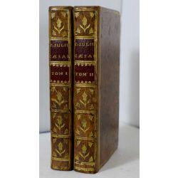 LA18 CESAR,1755 Commentariorum de Bello Gallico et de Bello Civili, ex libris : Corbeau de Saint-Albin