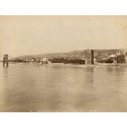colombe les vienne Tour des Valois, vintage albumen print, old photo, tirage argentique albuminé,1880/90, N.D.Phot.,Neurdein.