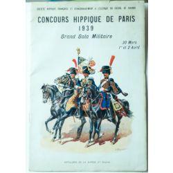 Concours hippique de Paris 1939 Grand gala militaire