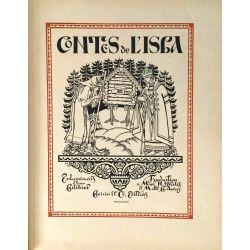 Contes de l'Isba, Enluminures d'Ivan Bilibin, 1931.
