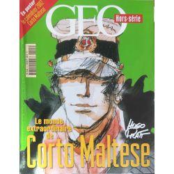 Corto Maltese Geo hors serie Hugo Pratt