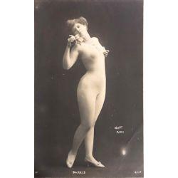 CPA, femme BARKIS, Walery, S.I.P. nue, antique postcard, Nude.
