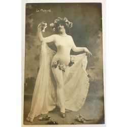 CPA femme seins nue, La Phryné, argentique, antique postcard, Nude.