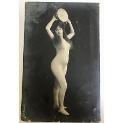 CPA femme seins nue,15e-serie 2, argentique, antique postcard, Nude.