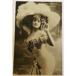 CPA Odette Bremonval, sein nue, antique postcard, nude