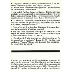 La voie de dieu et du Cromlech de Rennes Les Bains