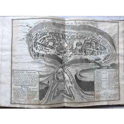 1691, UKRAINE Carte ancienne Kamieniec Podolski : Ville forte des Estats de Pologne, et de la Haute Podolie, antiquarian Map, N. de Fer