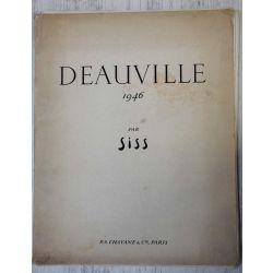 Deauville par SISS-1946-miss-chavane, avec 24 planches sur velin de rives N. 95/400