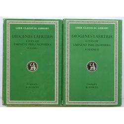 Diogenes Laertius, Philosophers, in 2 vol. / Loeb Classical Library