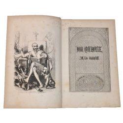 don quichotte de la manche,Tome I, chez garnier 1850