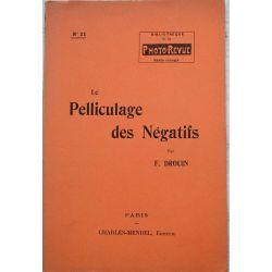 photo revue No 21, Pelliculage des negatifs, Drouin, Mendel