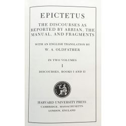 Epictetus, Discourses, in 2 vol. / Loeb Classical Library