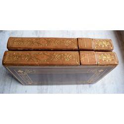 reliure signée par SIMIER, Ex Libris de BERALDI, 2 vol, Buttura, La Gerusalemme