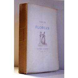 Fables de Florian, portrait et 6 eaux fortes ,1886