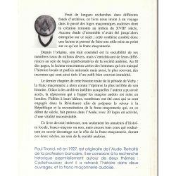 Loges et Francs-Macons audois 1757-1946