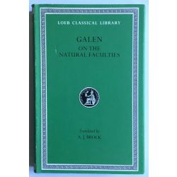 Galen, Natural faculties, in 1 vol. / Loeb Classical Library