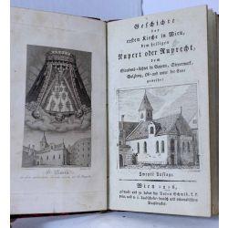 1816 GROPPENBERGER VON BERGENSTAMM, ALOIS,erste Kirche Wien, St. Rupert oder Ruprecht. LA19.