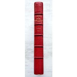 LA19 Reliure signée GRUEL, 1872 les sept péchés capitaux de la litterature et le paradis des gens de lettres