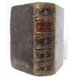 la17 Le Berger Fidele.1677 Traduit de lItalien de Guarini en Vers François