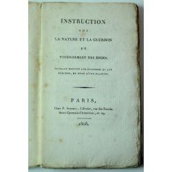 LA19 1808 Instruction sur la nature et la guerison du tournoiement des brebis E.O.