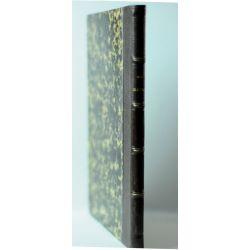 extrait de 134 pages des Haras relie dans un livre demi cuir